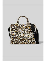 THE LEOPARD SMALL TRAVELER TOTE BAG