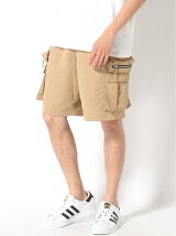 (M)GALLISADDICTION/GA CARGO SHORTS