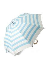 EN15 マリンボーダー柄 長傘/日傘