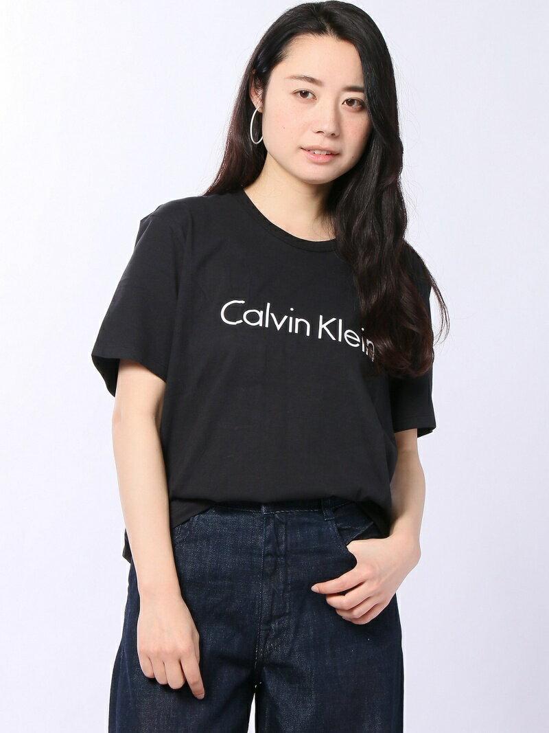 CALVIN KLEIN UNDERWEAR CALVIN KLEIN UNDERWEAR/(W)S/S CREW NECK カルバン・クライン カットソー【送料無料】