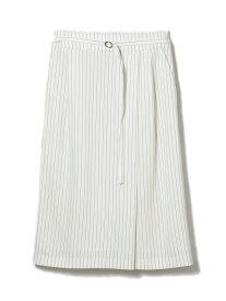 【SALE/60%OFF】CLEAR IMPRESSION ハイツイストダブルクロスタイトスカート クリアインプレッション スカート タイトスカート ホワイト ベージュ【送料無料】