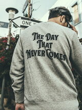 VINTAGE  THE DAY LONG SLEEVE SWEAT