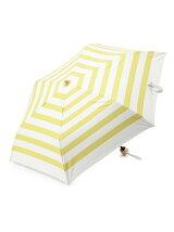 EN15 マリンボーダー柄 折りたたみ傘/日傘