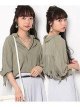 【HIRARI COLLECTION】ヒラリボンシャツ