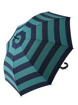 Ray BEAMS / ボーダー柄 アンブレラ レイビームス 日傘 雨傘 晴雨兼用