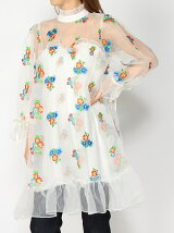 sister jane / Atacama Organdy Dress Ray BEAMS レイビームス シスター ジェーン