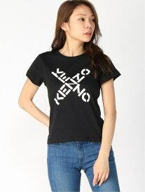 【SALE/30%OFF】KENZO (W)Kenzo Sport Big X Small Fit Tee W ケンゾー カットソー Tシャツ ブラック【送料無料】