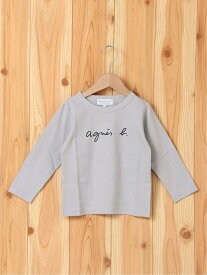 agnes b. ENFANT agnes b. ENFANT/(K)S137 キッズ Tシャツ アニエスベー カットソー キッズカットソー グレー【送料無料】