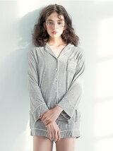 モダールベアパジャマシャツ/ルームウエア
