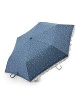 EN16 ダンガリー星柄 折りたたみ傘/日傘