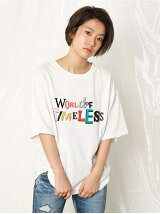 TIMELESS ロールUP Tシャツ