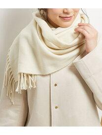 【SALE/40%OFF】ROPE' PICNIC PASSAGE カラー無地マフラー ロペピクニック ファッショングッズ マフラー/スヌード ホワイト グリーン パープル