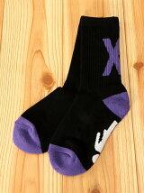 X-girl × GIRL SKATEBOARDS SOCKS