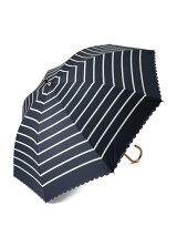 EN17 遮光ボーダー 長傘/日傘