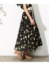 [セットアップ対応]花柄マキシスカート