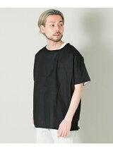 MANUAL ALPHABET リバーシブルシャツTシャツ