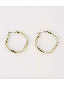 AZUL by moussy TWISTHOOPEARRINGS アズールバイマウジー アクセサリー