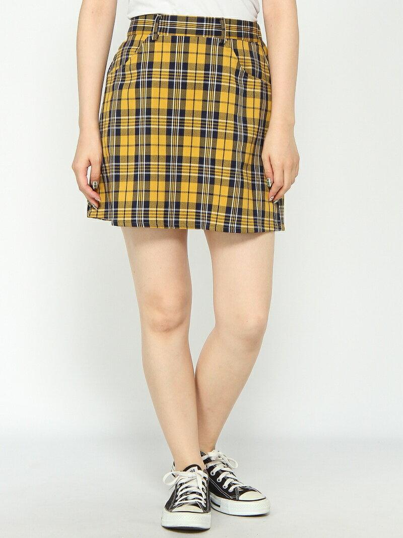 BROWNY BROWNY/(L)チェックタイトミニスカート ウィゴー スカート