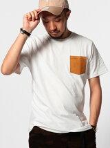 【OCEANS4月号掲載】ビーミング by ビームス / スウェードクルーポケットTシャツ BEAMS