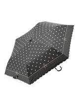 EN18 遮光ドット 折りたたみ傘/日傘