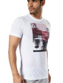 Reebok GS フォトプリントTシャツ リーボック スポーツ/水着 スポーツウェア ホワイト