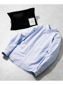 【SALE/15%OFF】ROSSO 【WEB限定】ハイパフォーマンスオックスボタンダウンシャツ アーバンリサーチロッソ シャツ/ブラウス シャツ/ブラウスその他 ブルー ホワイト ブラック グレー ピンク【送料無料】