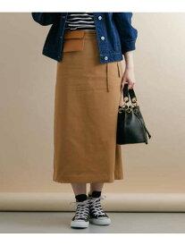 【SALE/60%OFF】Sonny Label ポーチ付きスカート サニーレーベル スカート スカートその他 ブラウン ベージュ カーキ