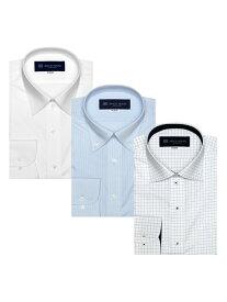 TOKYO SHIRTS (M)【WEB限定】形態安定ノーアイロン長袖ビジネスワイシャツ 3枚 Aセット トーキョーシャツ シャツ/ブラウス ワイシャツ ブルー【送料無料】