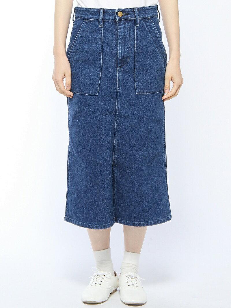YEVS supply (W)LEEベイカースリットスカート(USED) イーブス サプライ スカート【送料無料】