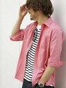【rml7t】MAISON TOKYO (M)ストレッチリネンSH ジェイフェリー シャツ/ブラウス【RBA_S】【RBA_E】【送料無料】