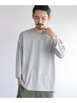 カラーパレット7分袖ポケットTシャツ