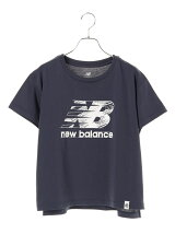 new balance×earth ロゴTシャツ