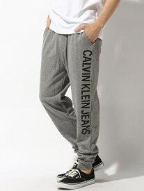【SALE/50%OFF】Calvin Klein Jeans 【カルバン クライン ジーンズ】 メンズ サイド ロゴ パンツ カルバン・クライン パンツ/ジーンズ スウェットパンツ グレー ネイビー【送料無料】