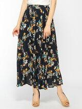 floret patternロングJ/W SK