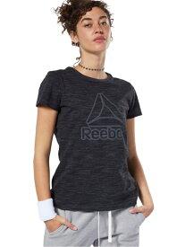 Reebok TE マーブルTシャツ リーボック スポーツ/水着 スポーツウェア ブラック ホワイト