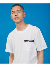 (M)TOMMY HILFIGER(トミーヒルフィガー) JS M SIGNATURE SS POCKET TEE