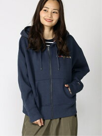 【SALE/50%OFF】TOMMY JEANS TOMMY JEANS/(W)TOMMY HILFIGER(トミーヒルフィガー) ロゴジップパーカー トミーヒルフィガー カットソー パーカー ネイビー【送料無料】