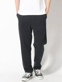 【SALE/50%OFF】three dots Men's jersey shirling pants / ジャージー シャーリングパンツ スリードッツ パンツ/ジーンズ フルレングス ネイビー【送料無料】