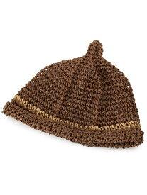 【SALE/30%OFF】SHOO・LA・RUE 雑材とんがり帽 シューラルー 帽子/ヘア小物【RBA_S】【RBA_E】