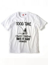 gym master/(U)GOOD TIME Tee_white