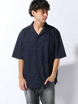 【BROWNY】(M)オープンカラーシャツ