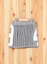 DEGRELATE/(K)STRIPE SKIRT