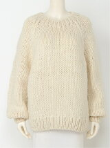 HEART ELBOW KNIT TOPS