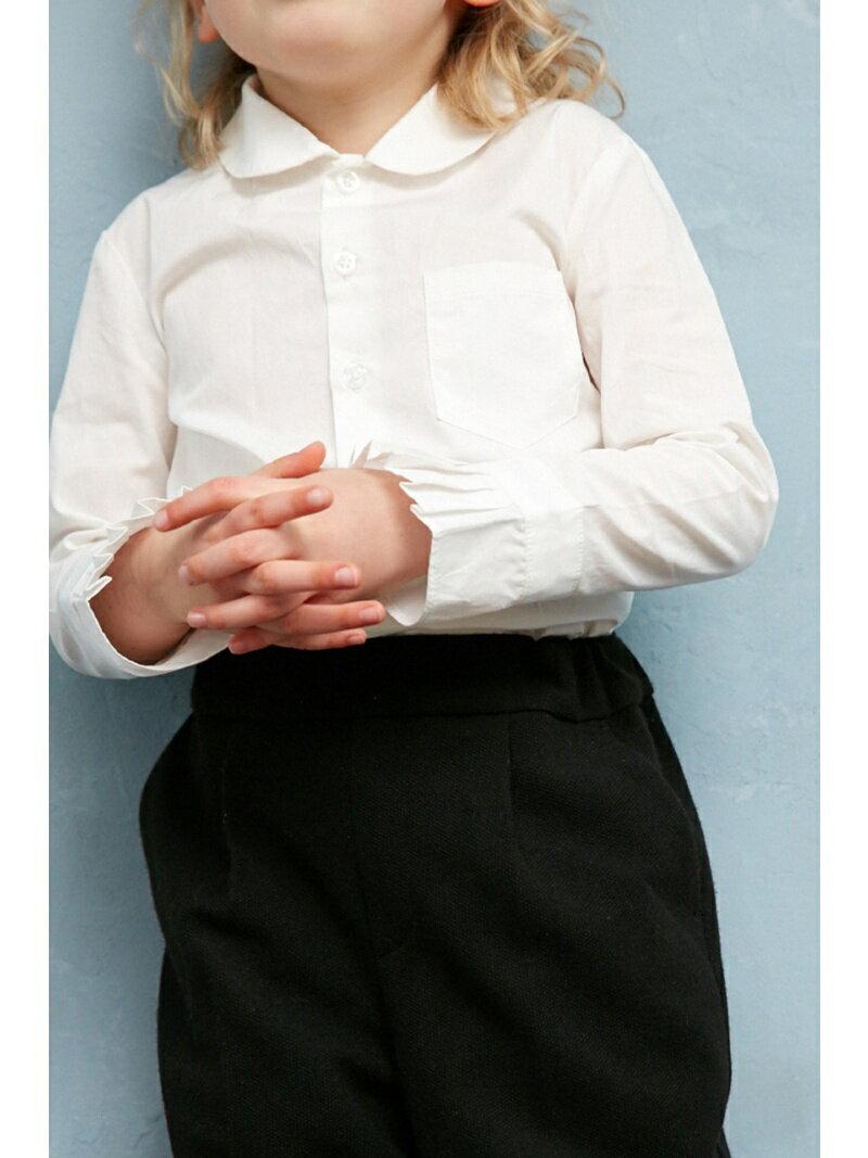 【SALE/50%OFF】AZUL by moussy ラウンドカラーシャツ アズールバイマウジー シャツ/ブラウス【RBA_S】【RBA_E】