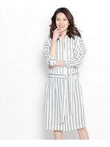 ジャージーシャツドレス
