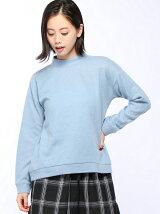 ミル起毛/ハイネックプルオーバー/スカート/リブセットアップ