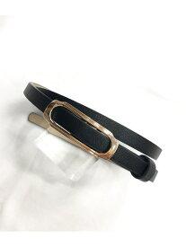 【SALE/20%OFF】ViS 10mm幅イージーピンレスベルト ビス ファッショングッズ ベルト ブラック ブラウン ベージュ レッド シルバー