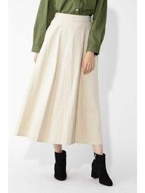 NATURAL BEAUTY BASIC コーデュロイマキシスカート ナチュラルビューティベーシック スカート【送料無料】