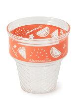 フルーツ柄アイスクリームカップ