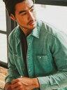 【SALE/37%OFF】BAYFLOW (M)TCコーディロイシャツ ベイフロー シャツ/ブラウス 長袖シャツ グリーン グレー ピンク …